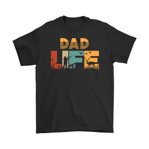 Dad Life T-shirt Hunting Dad Tee Father's Day Birthday Christmas Dad Gift - You Can Print