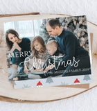EDITABLE Christmas Cards with photo, Christmas Cards Template,photo Christmas Card - You Can Print