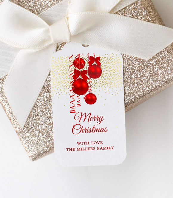 Editable Christmas Holiday Tags,printable Christmas Gift Tags,Customized K1 GT - You Can Print