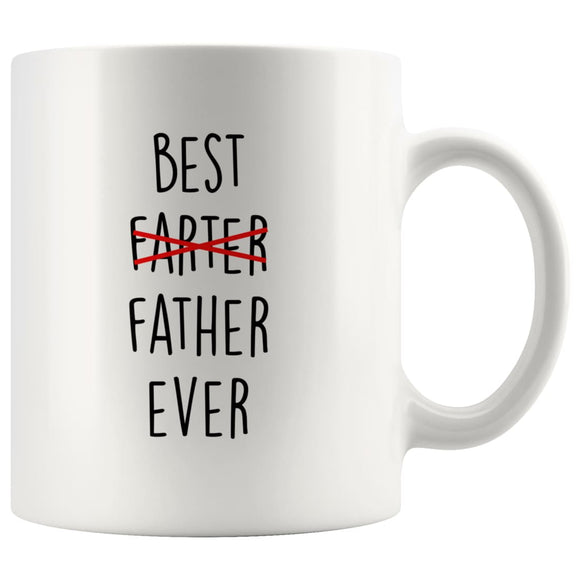 Mug Fathers Day Gift for Best Farter ever Mug Funny - You Can Print
