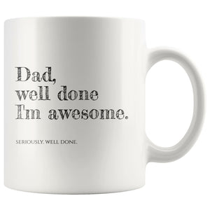 Mug Father's Day Gift, Daddy Mug - You Can Print