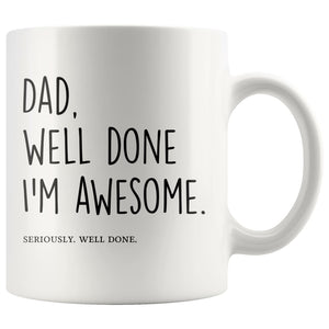 Mug Father's Day Gift, Dad's Coffee Mug - You Can Print