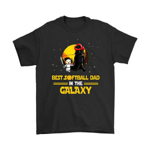Shirt Funny Softball dad T-shirt Father's Day Gift - You Can Print