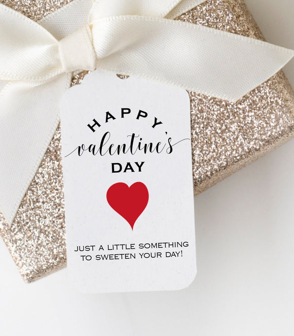 Just A Little Something To Sweeten Your Day|Valentines Day Gift Tag|Galentines day VD1 - You Can Print