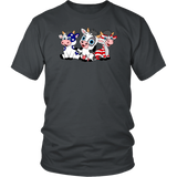 T-shirt Independence Day 4th of July Shirt Funny Little Cows Tee - You Can Print
