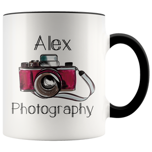 Photographer Mug, Custom Coffee Mug, Gift for Photographer, Name Mug - You Can Print