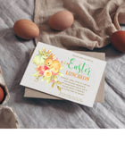 Printable Easter Invitation He Is Risen Instant Download Cross Editable - You Can Print