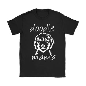 T-Shirt Doodle Mama Funny Shirt Dog Lover - You Can Print