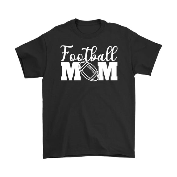 T-Shirt Football Mom Shirt Short Sleeve Unisex Tee - You Can Print