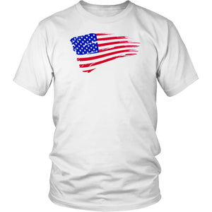 T-shirt US Flag Patriotic Shirt Independence Day Tee - You Can Print