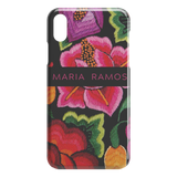 Personalised Floral phone case, hard phone cover for iphone 5 5s 678Plus Xs XR Xs Max 11 Pro Max TL
