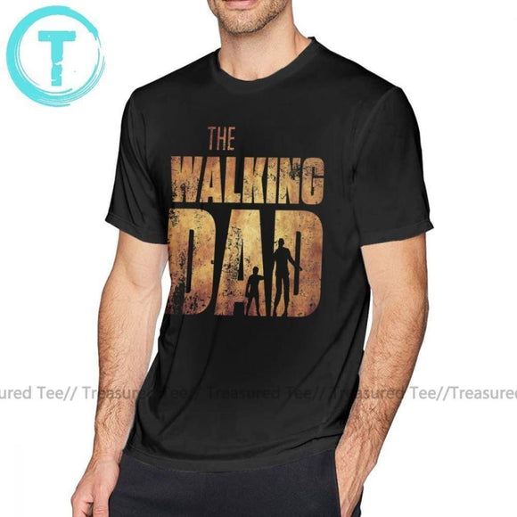 T-shirt The Walking Dead T Shirt The Walking Dad Original Father Day Zombie - You Can Print