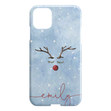 Personalized Christmas Phone Case Custom Name iPhone Hard case TL