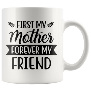 White Ceramic Coffee Mug - Gift For Mom - Mother's Day Gift - You Can Print