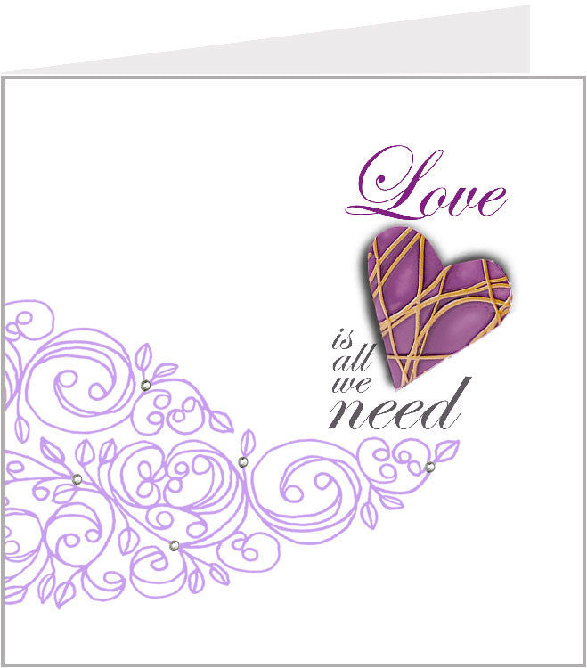 Hopscotch Valentino - Love is all we need (pack 6) 01-040