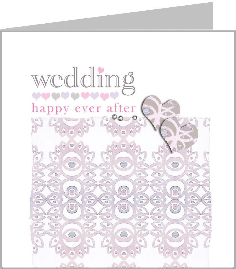 Valerie Valerie wedding card, happy ever after