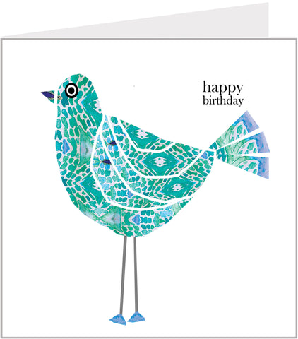 Tweet Tweet Bird Birthday Card