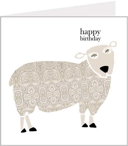 Menagerie Birthday Card - Baa Baa Sheep (pack 6) 74-007