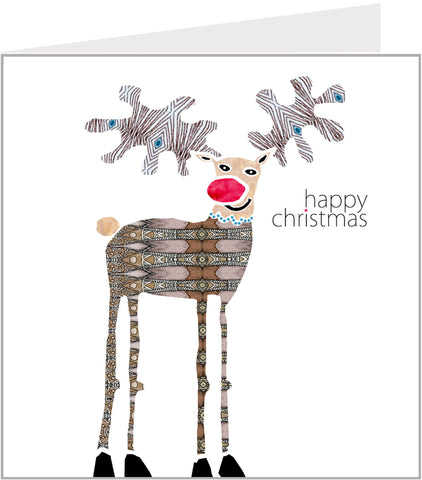 Christmas Trimmings, Reindeer Christmas Card