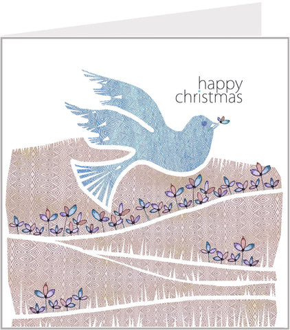 Christmas Trimmings, Dove Christmas Card