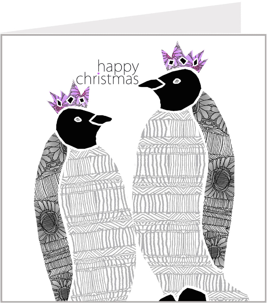 Christmas Trimmings, Penguins Christmas Card