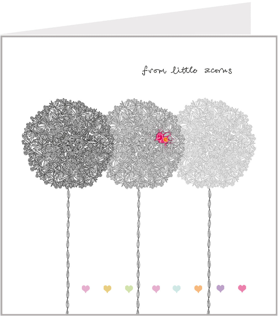Well Said Greetings Card - From Little Acorns