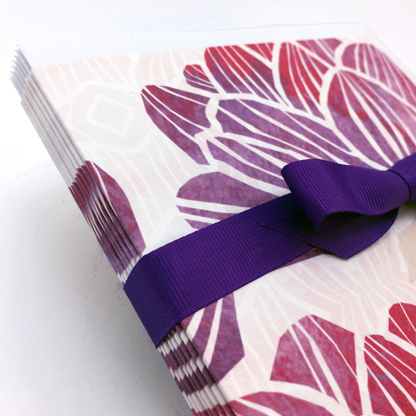 beautiful floral notecards