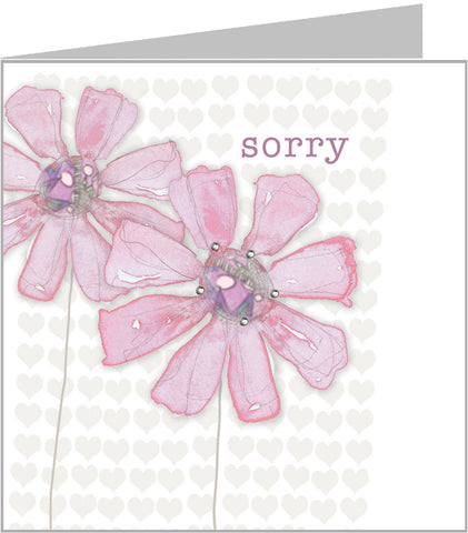 Sorry card by Valerie Valerie
