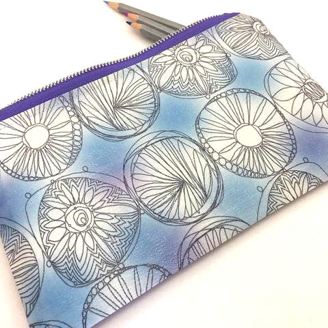 handmade pencil case