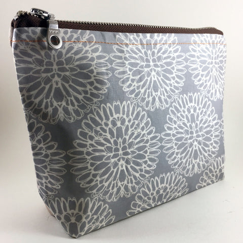 contemporary zipper pouch