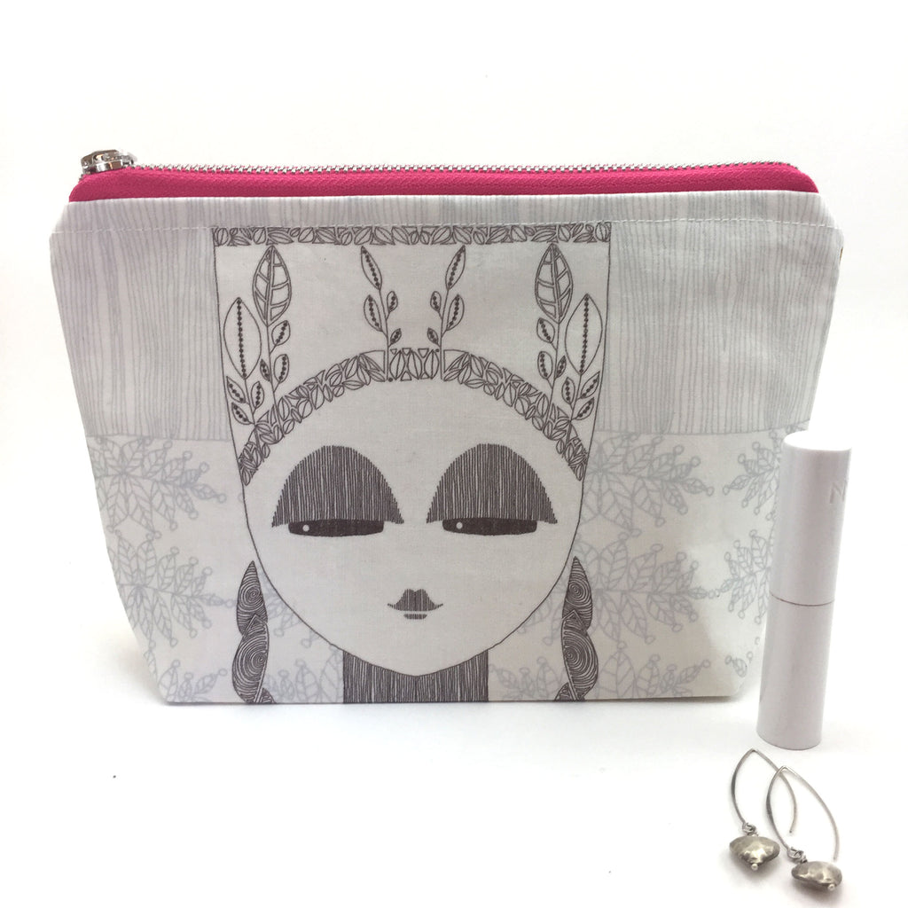 Handmade make up bag