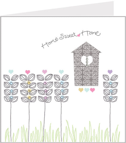 Home Sweet home - flowerbed (pack 6) 51-002