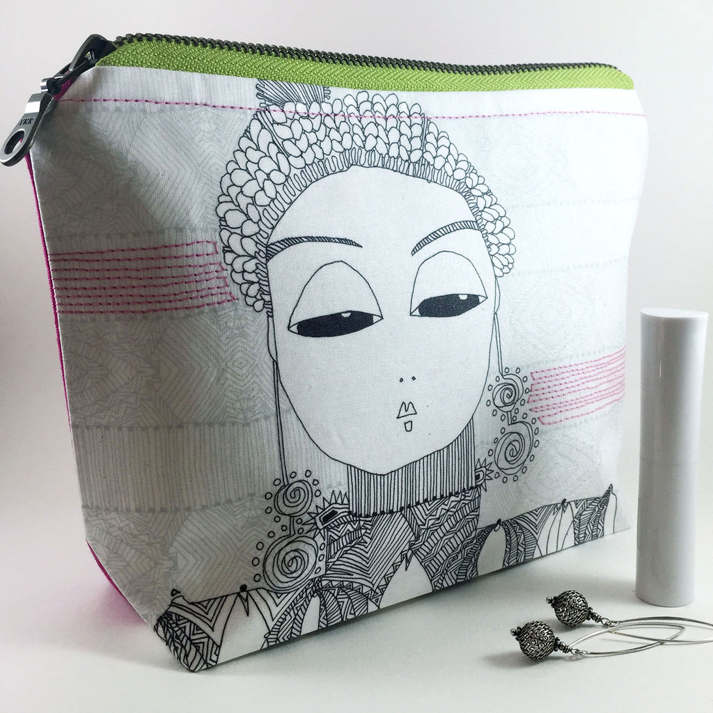 japanese zipper pouch