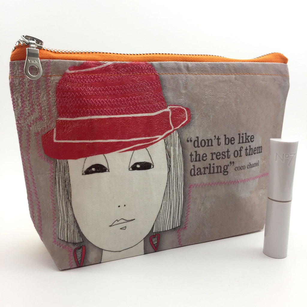 handmade toiletries bag