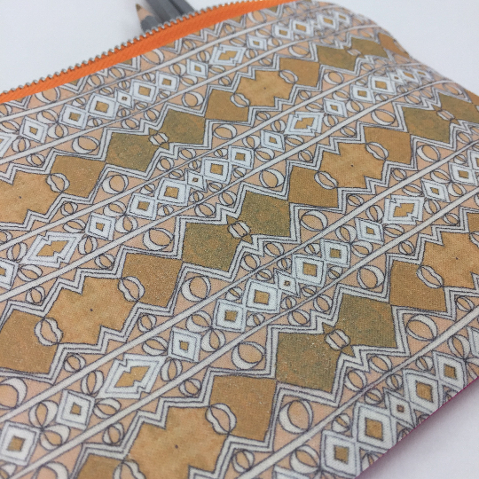 moroccan pattern pencil case