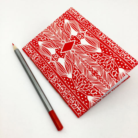 handmade A6 notebook