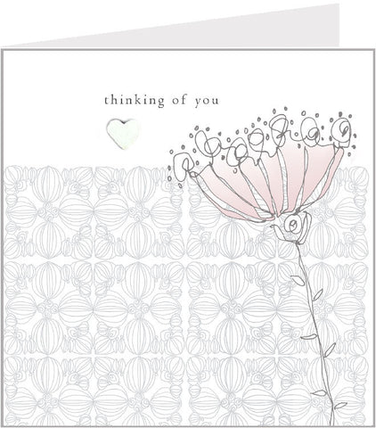 sympathy hand made greetings card, dandelion 44-005