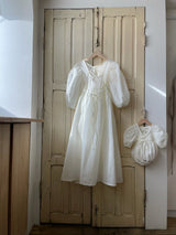 Ria Dress for Mum Ivory