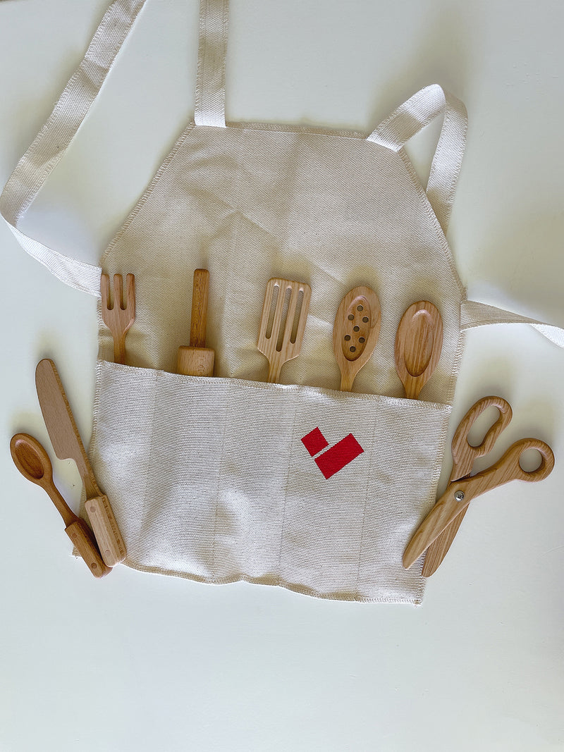 Wooden Kitchen Tool Set - PIPIROO