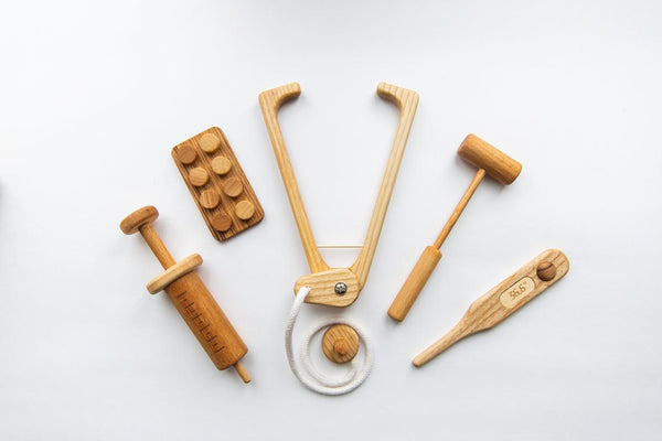 Wooden Mini Doctor Set - PIPIROO
