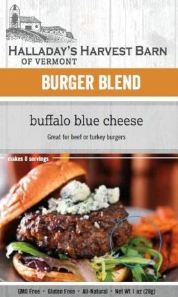 Burger Mix Buffalo Blue Cheese Burger
