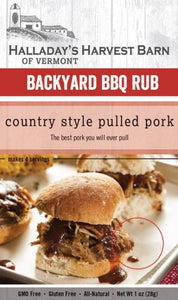 Country Style Pulled Pork BBQ Rub Mix