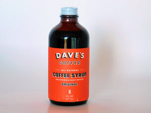 Dave's Coffee Syrup 8oz