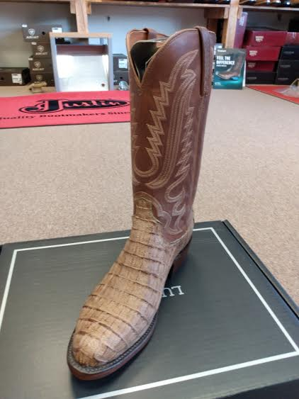 Lucchese Men Walter | Tan Caiman