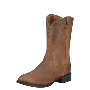 Ariat Men Heritage Roper | Distressed Brown