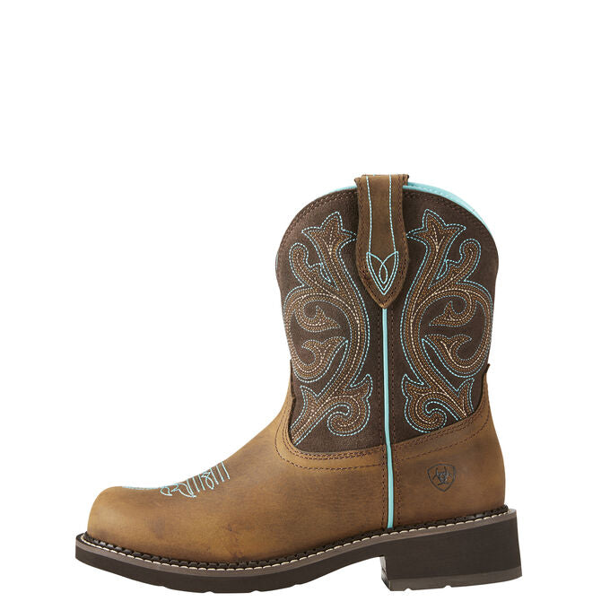 Ariat Women Fatbaby Heritage | Distressed Brown/ Fudge