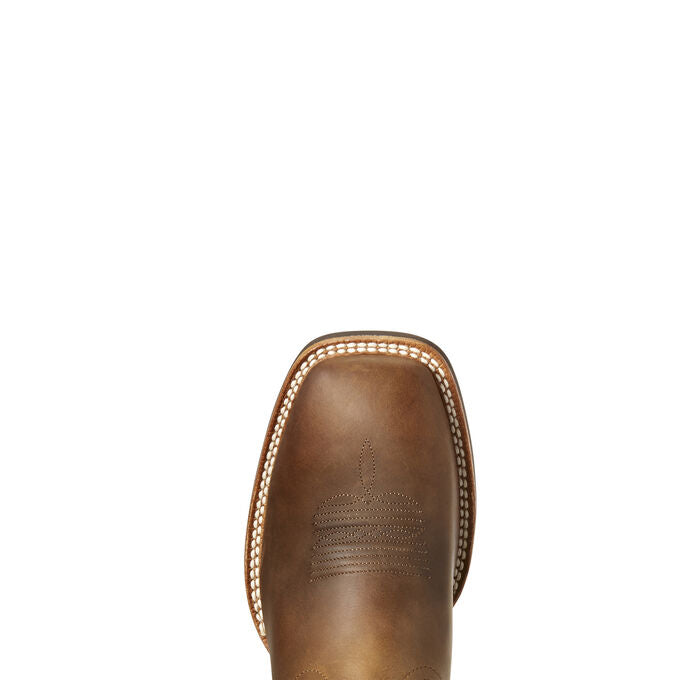Ariat Men Quick Draw VenTeck Western Boot | Distressed Brown
