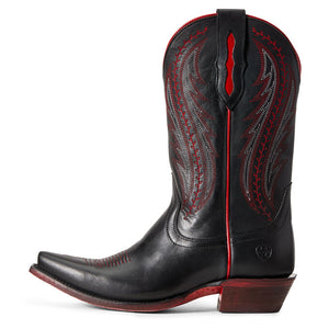 Ariat Women Tailgate Western Boot | Black/Red
