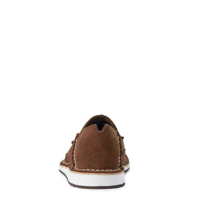 Ariat Women Cruiser | Brown Suede/ Brown Floral Emboss