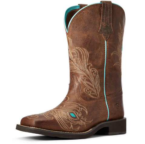 WOMEN'S Bright Eyes II Western Boot | WEATHERED BROWN